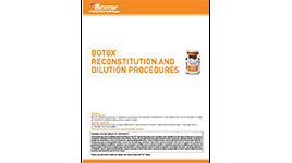 Botox Reconstitution Related Keywords & Suggestions - Botox
