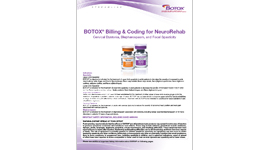 BOTOX® Billing and Coding for NeuroRehab Thumbnail