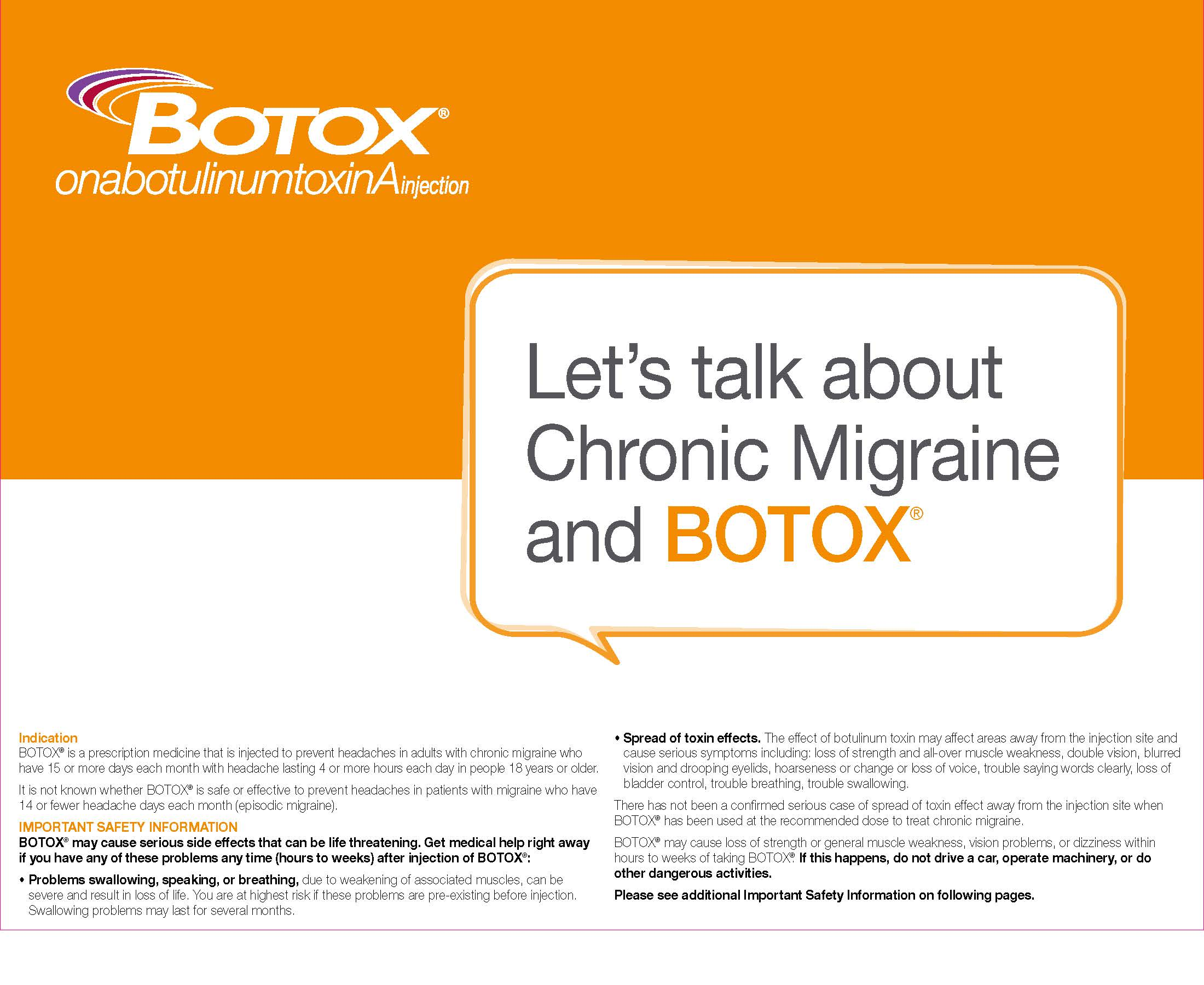 Office Support Resources | BOTOX® (onabotulinumtoxinA) for